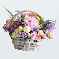 Flower Baskets (Delivery) img